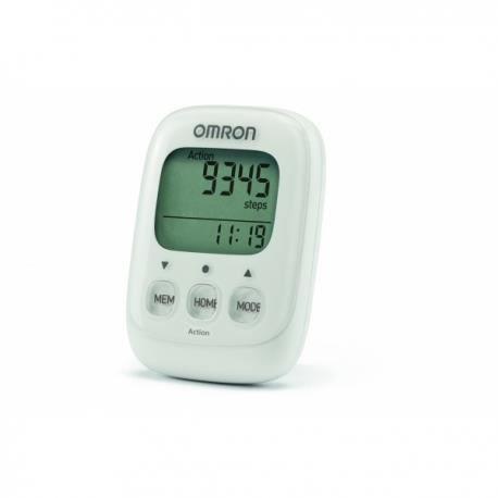 OMRON Walking Style hj325-ew IV podomètre calories brûlées capteur 3D BLANC-NEUF