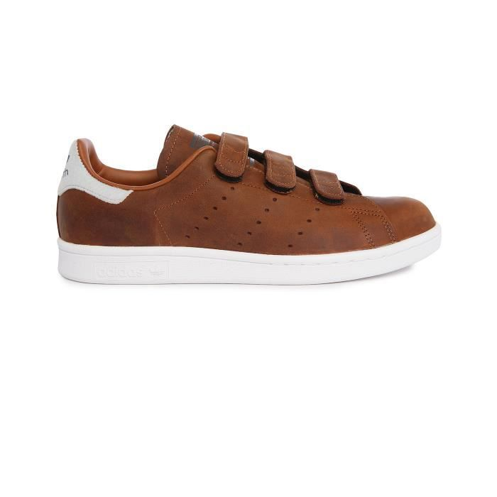Adidas Stan Smith Marron Cuir