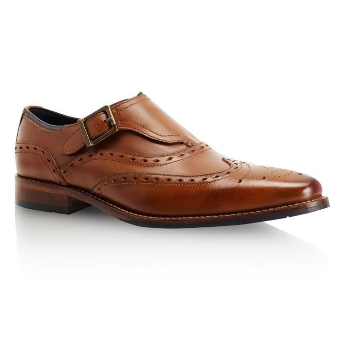 Goodwin Smith Gargrave Monk Strap Homme Mocassin