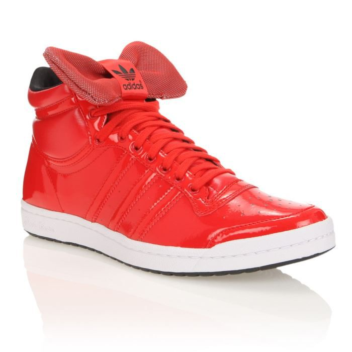 basket adidas rouge