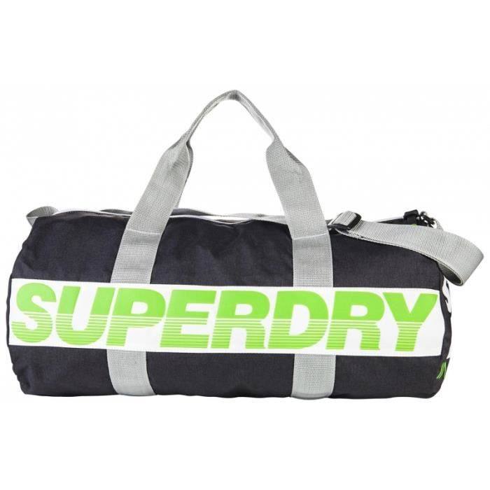 de266cdc75 Sac de Sport Superdry International Barrel Grey Bleu Marine - Prix ...