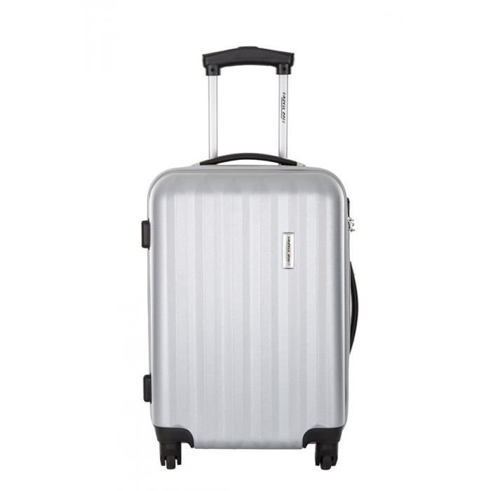 travel one valise stevenage argent taille m achat vente valise bagage 3607070661628. Black Bedroom Furniture Sets. Home Design Ideas