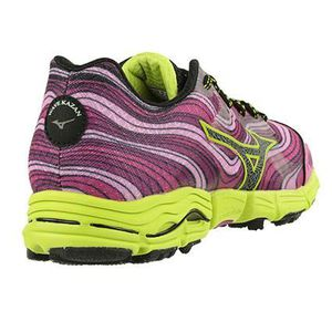 best website 9527e 336f9 ... CHAUSSURES DE RUNNING Mizuno Wave Kazan femme violet vert ...