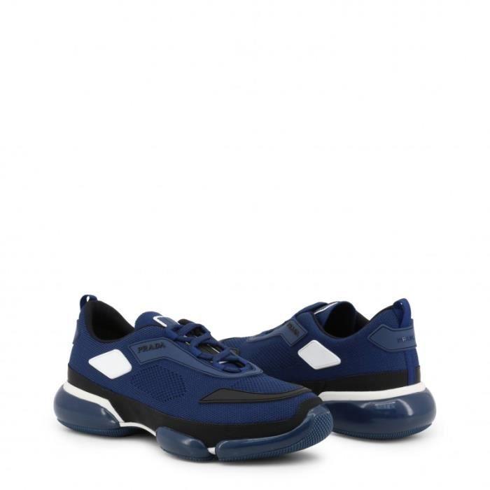 Chaussures Sneakers Prada - Bleu Homme