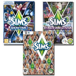 JEU PC Compil Sims 3 + Showtime + En retour vers le futur
