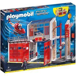 UNIVERS MINIATURE PLAYMOBIL 9462 - City Action - Caserne de pompiers