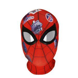 MASQUE - DÉCOR VISAGE Spiderman Masque Adulte Cosplay Casque Cadeau Hall