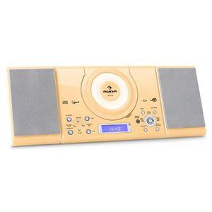 CHAINE HI-FI Auna MC-120 Chaine Hifi Stéréo Lecteur MP3 CD USB