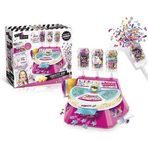 JEU DE STICKERS CANAL TOYS - ONLY 4 GIRLS - Confetti Bar - Push Po