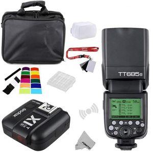 KIT - PACK FLASH Fomito Godox TT685S TTL 2.4GHz Sans-fil Master /Ex