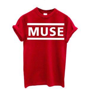 T-SHIRT T-shirt Homme Muse T-shirt Rock band 100% coton La