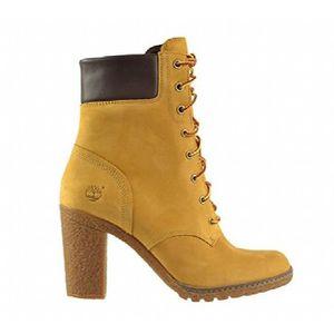 bottes style timberland femmes