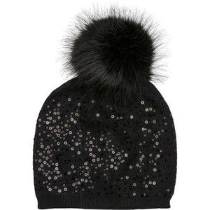 BONNET - CAGOULE styleBREAKER bonnet à pompon et à mailles fines, p