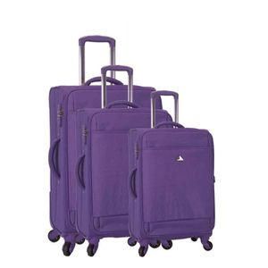 SET DE VALISES Set de 3 valises 4 roues X-tra lite I violet