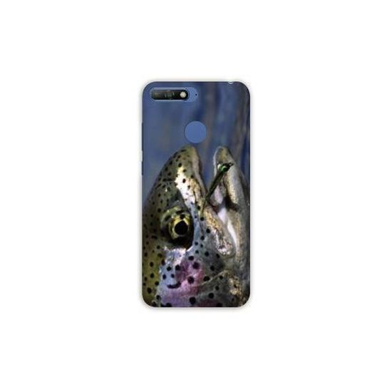 Coque Huawei Y6 (2018) / Honor 7A chasse peche taille unique Truite N