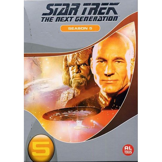 DVD SÉRIE STAR TREK THE NEXT GENERATION Saison 5, L'intégral