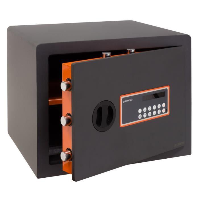 Arregui Plus C 180150 Coffre-fort haute sécurité, 10+3 mm, ouverture à code électronique, 32 x 42 x 36 cm, 38 L