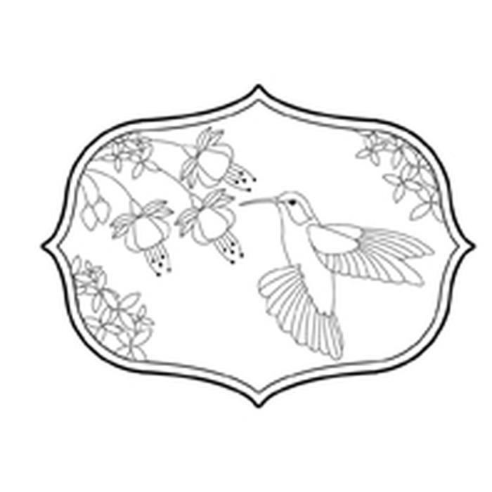 Tampon en bois - Freedom colibri - Artémio Non Pertinent
