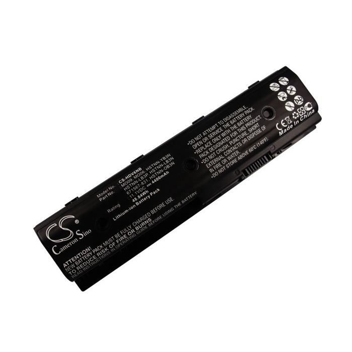 Batterie ordinateur hp envy dv6-7276ez