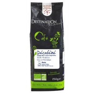 Café bio décaféiné Amérique Latine - grain - 250g