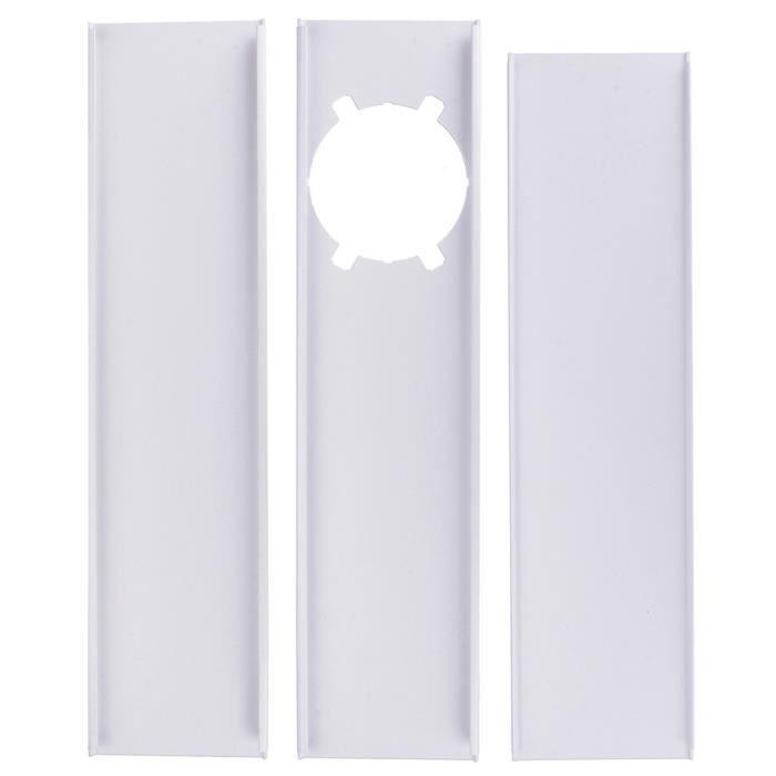 Climatiseur mobile universel réglable plaque de scellage de fenêtre attelle déflecteur-T1284