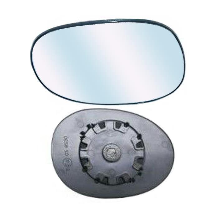 Miroir Glace asphérique Dégivrant Rétroviseur gauche pour CITROEN C2 de 2008 à 2010