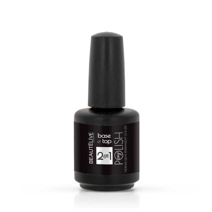 Finition - Base et Top coat UV&LED - Beautélive
