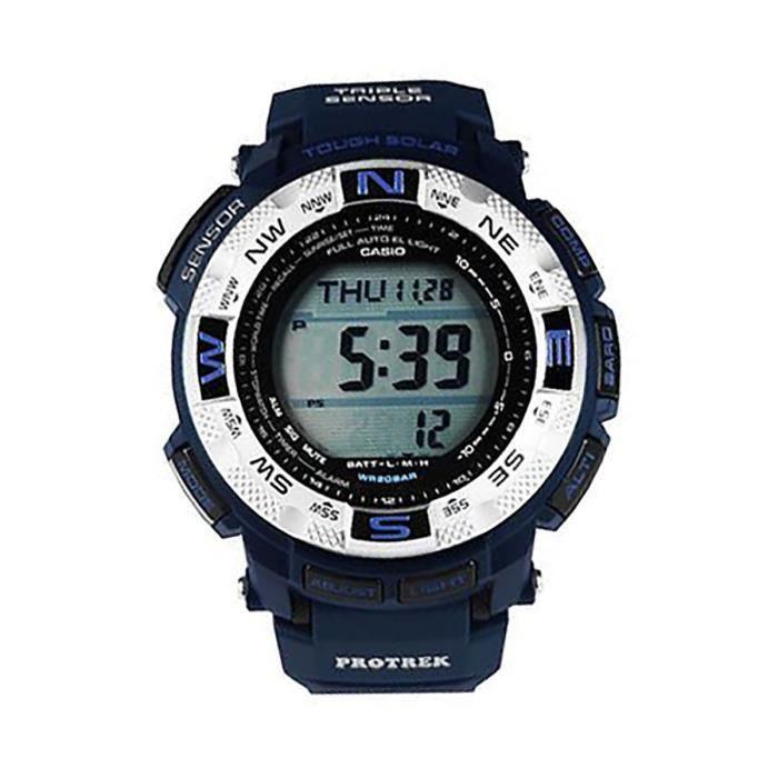 CASIO prg260-2 protreck bleu montre solaire dure des hommes BECAK