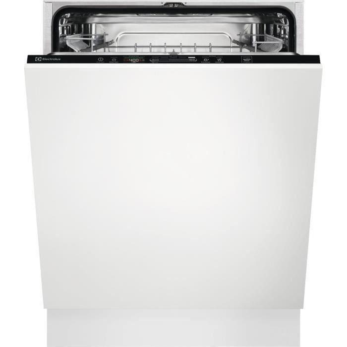 Lave-vaisselle tout intégrable ELECTROLUX EEQ47225L - 13 couverts - Largeur 60 cm - 44dB