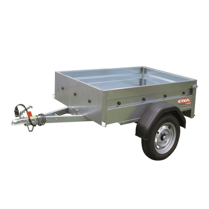 ERKA Remorque NLC 1510 - PTAC 500 kg - CU 386 kg - 150x105x35 cm