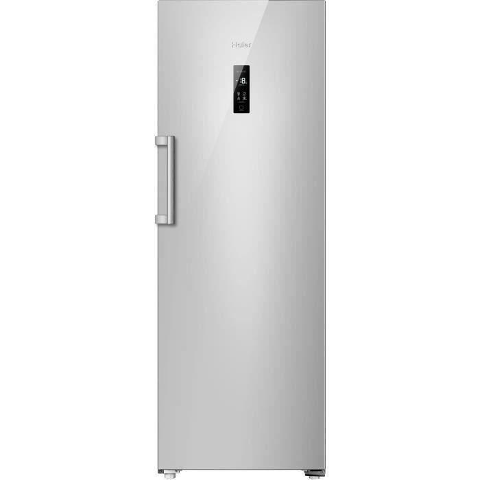 HAIER H2F-220SF - Congélateur armoire - 226L - Froid No Frost - L60 x H167,1 cm - Silver