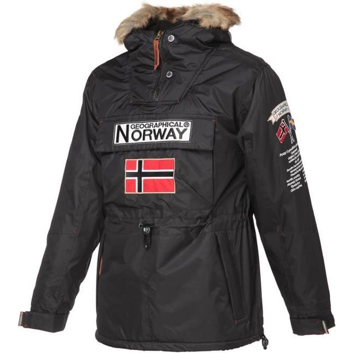 GEOGRAPHICAL NORWAY Parka Barman 068 - Homme - Noir