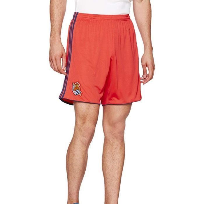 Real Sociedad Short de football Rouge Homme Adidas