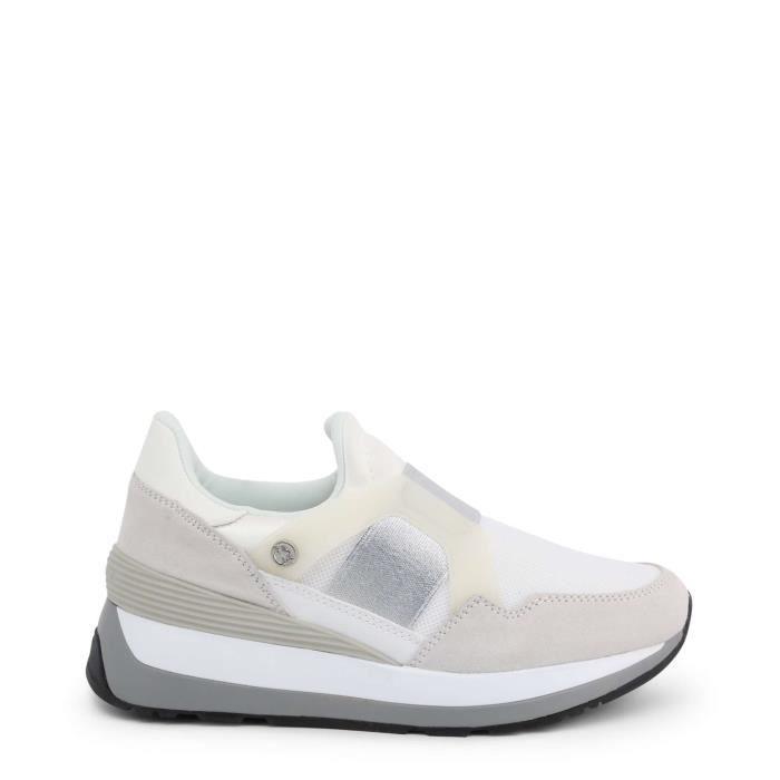 U.S. Polo - Sneakers pour femme (YLA4090W9_TS2_WHI) - Blanc