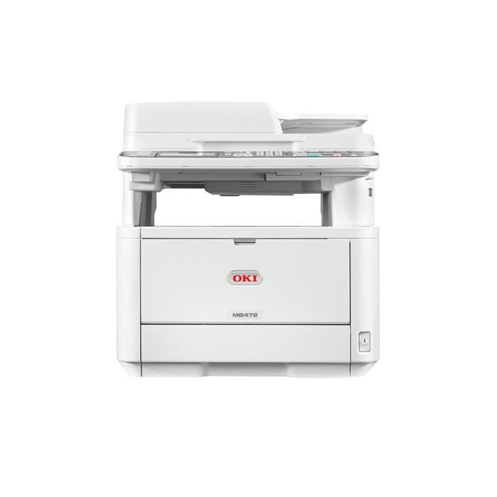 OKI Imprimante multifonction 4 en 1 MB472dnw - Laser - Monochrome - Ethernet - WIFI - Recto/Verso - A4