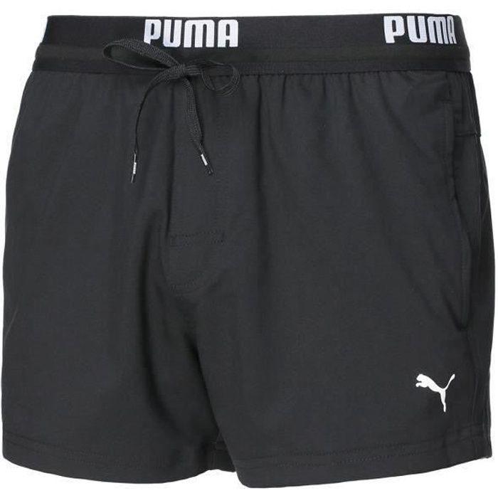Short de bain PUMA -Coupe courte- Noir