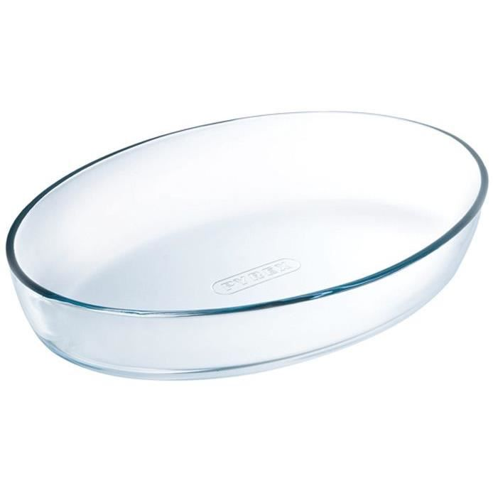 Plat spécial four ovale - 30x21 cm