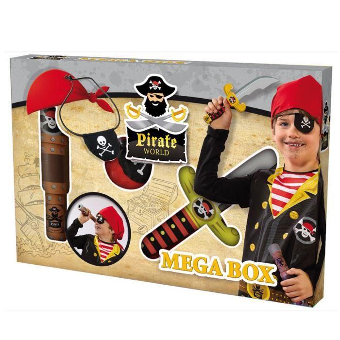 Accessoires de déguisement : Pirate