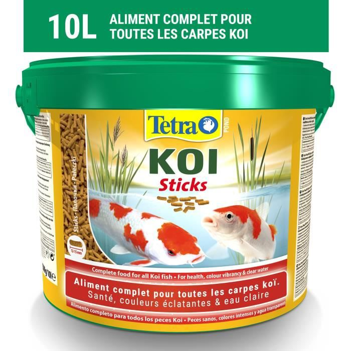 TETRA Pond Koï stick 10 L - Pour poisson
