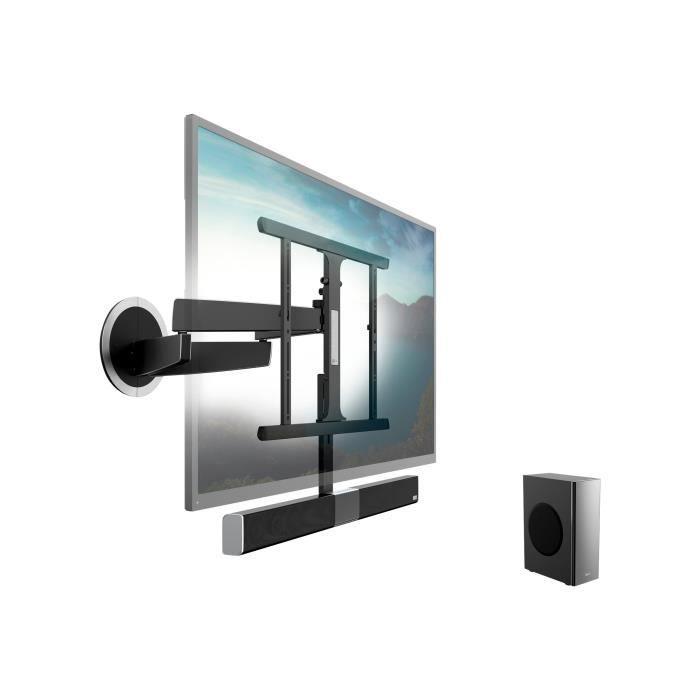 Vogel's SoundMount NEXT 8365 Kit de montage (fixation murale à mouvement libre) pour écran plasma - LCD aluminium, chrome noir…