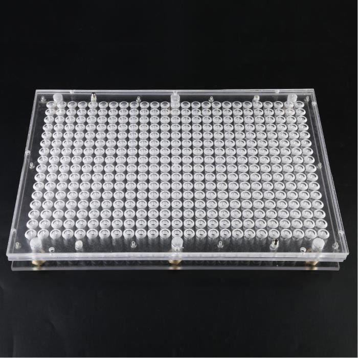 Machine de remplissage de capsules manuelle plaques de capsules vides avec /épandeur de poudre de remplissage outil