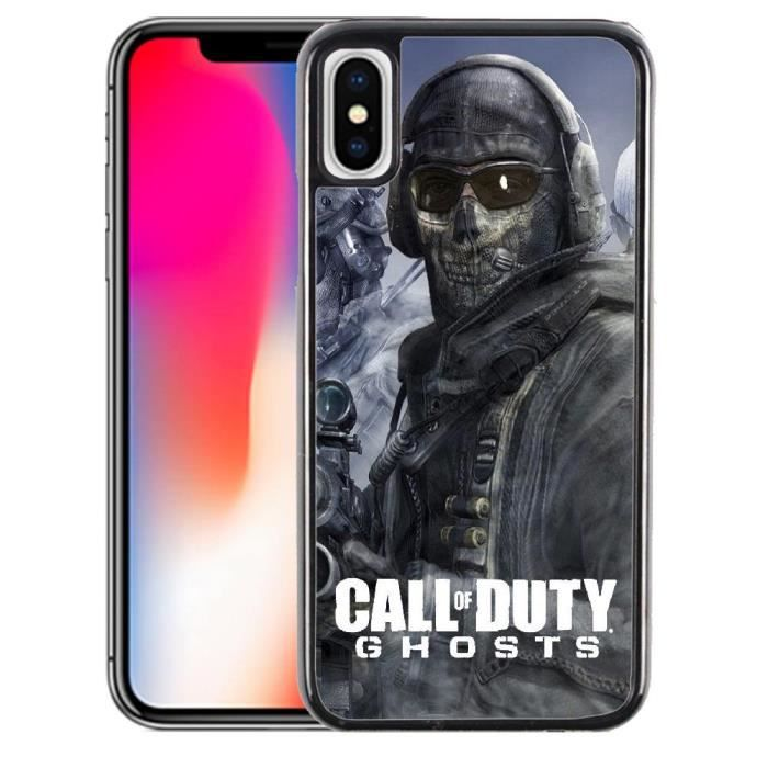 Coque iPhone X Call of Duty Ghosts
