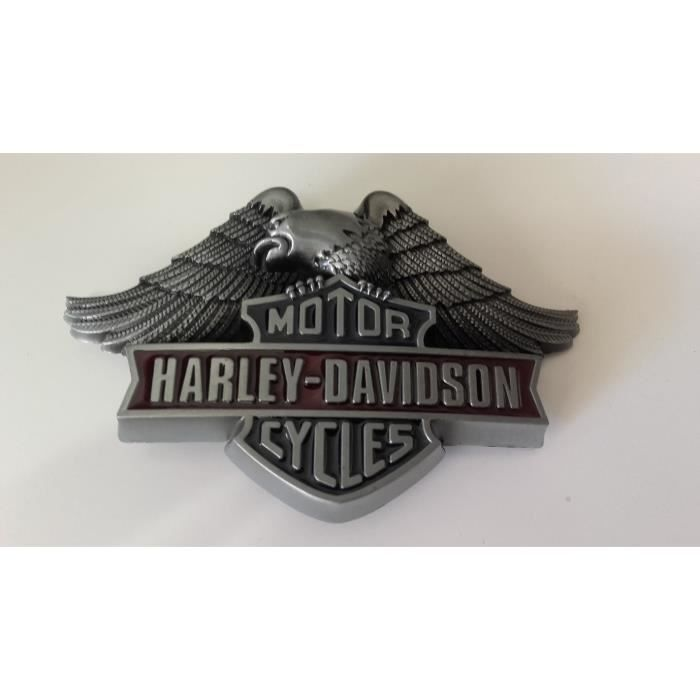 boucle de ceinture aigle sur embl me harley davidson american legend biker motar rock. Black Bedroom Furniture Sets. Home Design Ideas