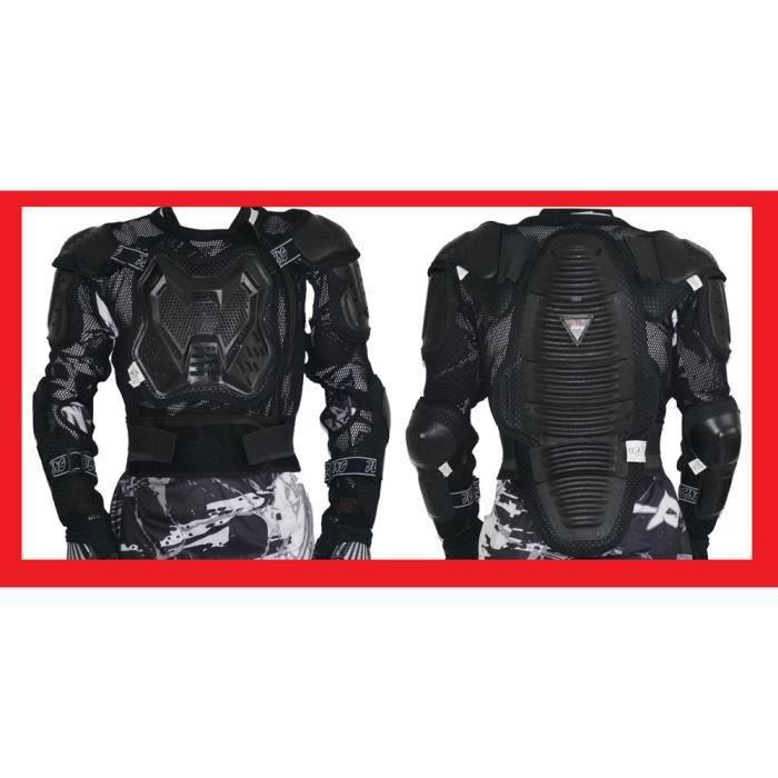 gilet de protection pare pierre dorsale moto cross quad vtt bmx mtb jlp racing l xl achat. Black Bedroom Furniture Sets. Home Design Ideas