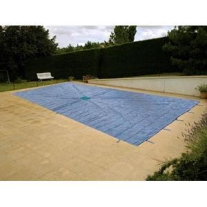 Bache de protection piscine hiver rectangulaire achat for Bache protection piscine