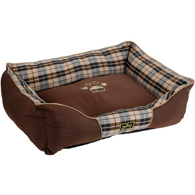 panier pour chien et chat tr s confortable corbeille coussin matelas lit animal marron. Black Bedroom Furniture Sets. Home Design Ideas