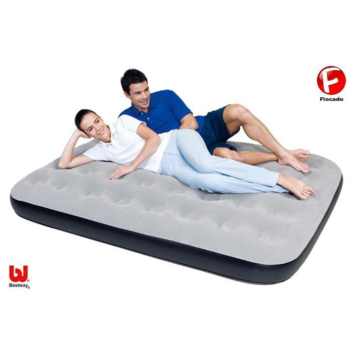 matelas lit de camp matelas gonflable 2 personnes. Black Bedroom Furniture Sets. Home Design Ideas