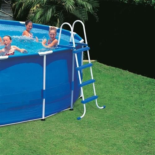 Echelle de piscine intex 122 cm achat vente echelle de for Echelle piscine intex