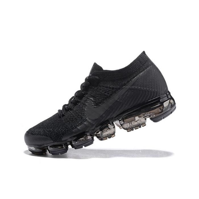 low priced 52bc5 ebad5 Basket Nike Air VaporMax Flyknit Pour Homme Chaussure De Running Noir