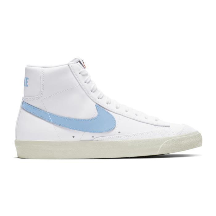 Baskets Nike Blazer Mid 77 Vintage 45,5 Blanc - Cdiscount Chaussures